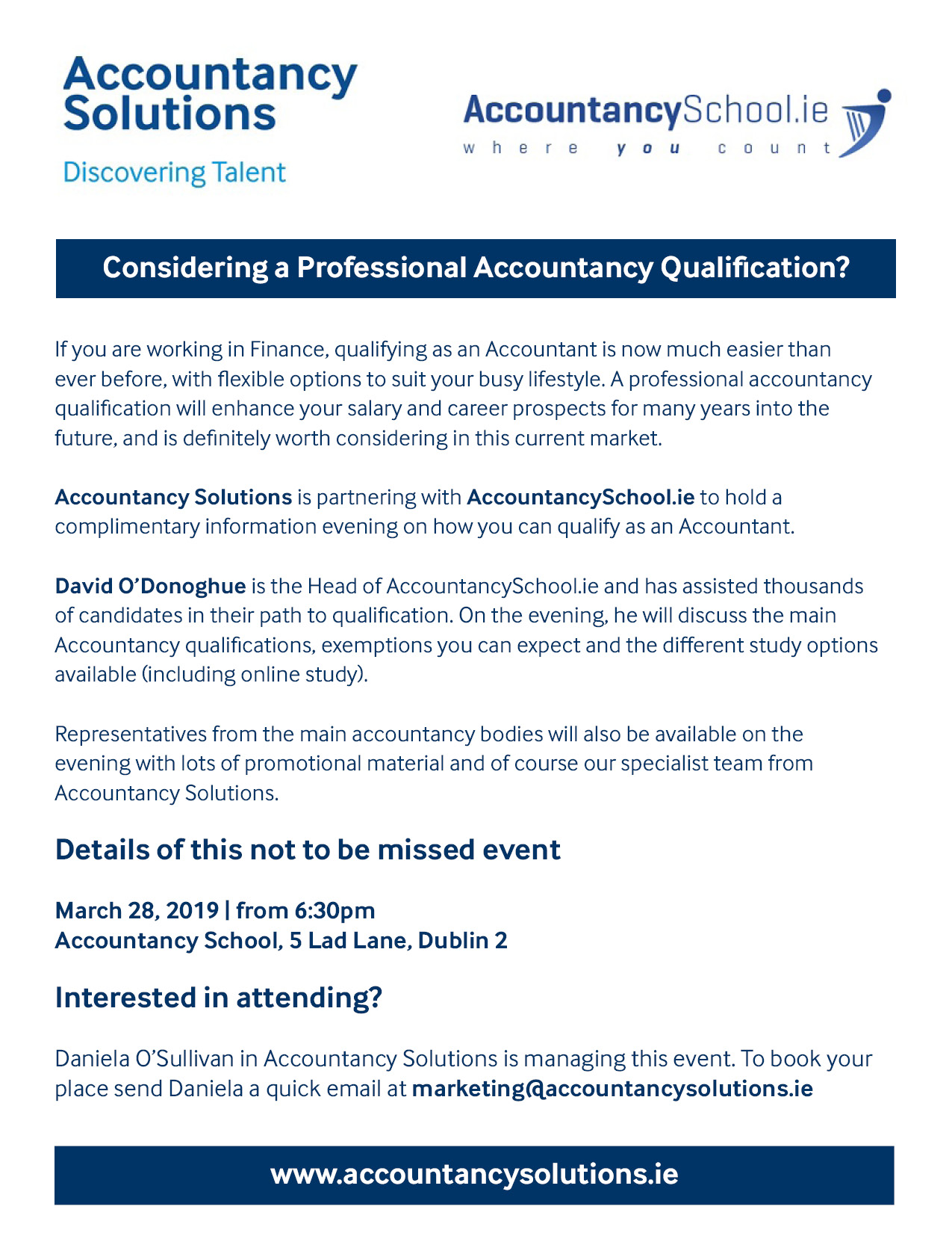 Considering a Professional Accountancy Qualification?