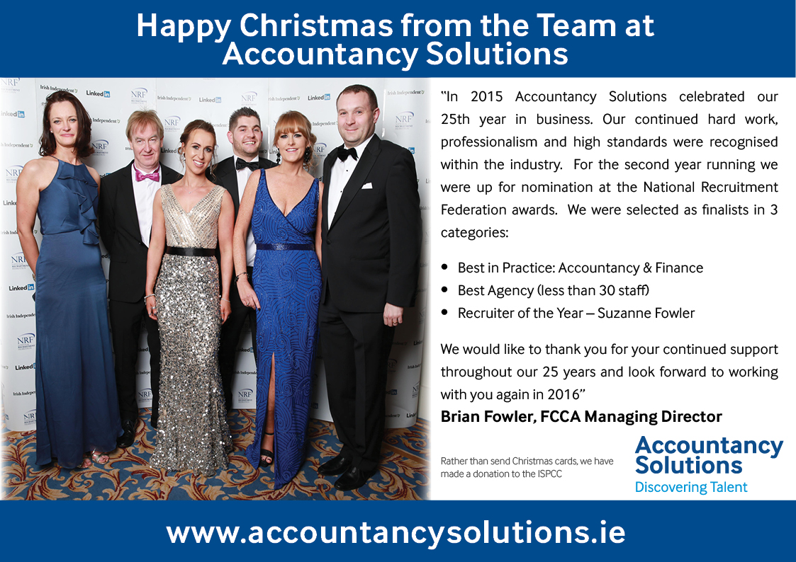 Happy Christmas from the Team at Accountancy Solutions
